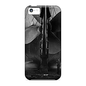 Faddish Phone Ships Huge Bolts Of Titanic Case For Iphone 5c / Perfect Case Cover