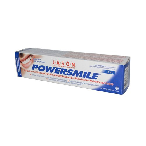 All Natural Whitening Coq10 Tooth (Jason PowerSmile All Natural Whitening CoQ10 Tooth Gel - 6)