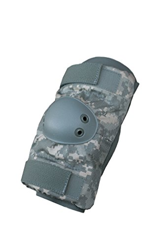 Acu Elbow Pads - Elbow Pads Army Style - ACU Universal Camouflage (Medium)