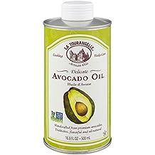 La Tourangelle Avocado Oil 16.9 Fl. Oz, All-Natural, Artisanal, Great for Salads, Fruit, Fish or Vegetables, Buttery Flavor