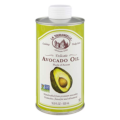 La Tourangelle Avocado Oil 16.9 Fl. Oz, All-Natural, Artisanal, Great for Salads, Fruit, Fish or Vegetables, Buttery Flavor ()