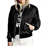Women Jacket,Haoricu Autumn Winter New Fashion Women Slim Motorcycle Soft Zipper Short Coat Jacket (3XL, Black)