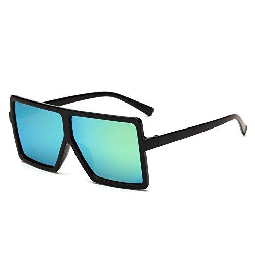 de sol Europeos de brillante tendencia Sapo retro gafas gafas gafas sol D de hombre dama Aoligei y Color americanos wXAqdxR6R