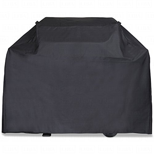 LiBa BBQ Grill Cover, Medium 58-Inch Waterproof, 600D Heavy Duty Gas Grill Cover for Weber, Brinkmann, Char Broil, Holland and Jenn Air