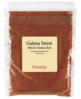 Galena Street Rib and Chicken Rub By Penzeys Spices 4.8 oz 3/4 cup (Chicken Ribs)