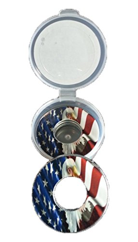 American Flag Pitching Washers W/Case