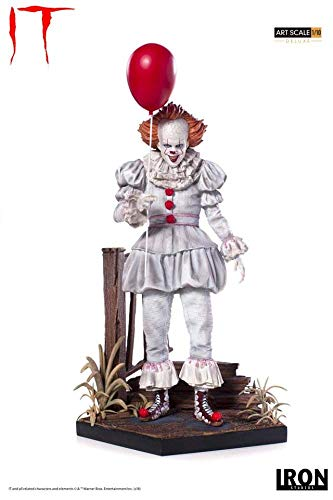 Iron Studios IS773562 1:10 Pennywise-Deluxe Art Scale Statue, Multi