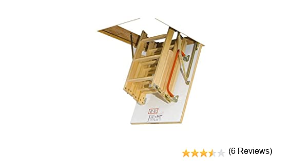 Escalera Fakro LWK 550 x 1110: Amazon.es: Bricolaje y herramientas