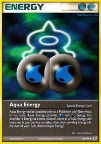 (Pokemon - Aqua Energy (86) - EX Team Magma vs Team Aqua)