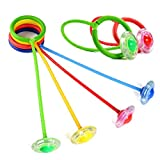 Meiliss New Children Flashing Jumping Ring Colorful Ankle Skip Jump Ropes Sports Swing Ball