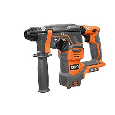 RIDGID Cordless 18-Volt 7/8 in. SDS-Plus Rotary Hammer-R86710B (Certified Refurbished)