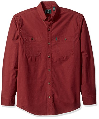 G.H. Bass & Co. Men's Hudson Peak Twill Long Sleeve Shirt