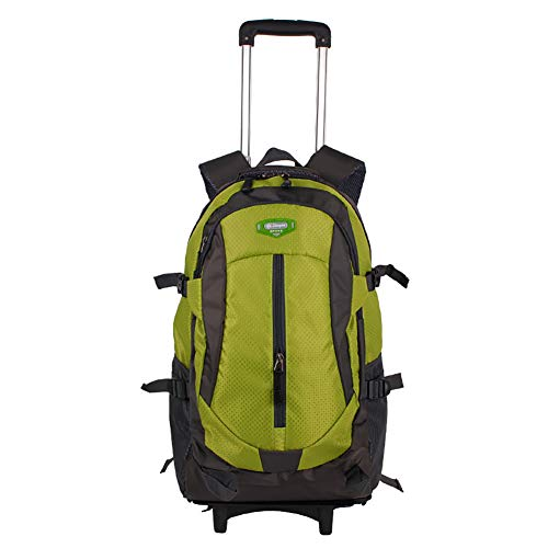 LRLANI Outdoor Multi-Function Travel Trolley Bag, Boarding Cabin Roller Bag, Men and Women Universal Wheel Bag, College, Business, Travel-E