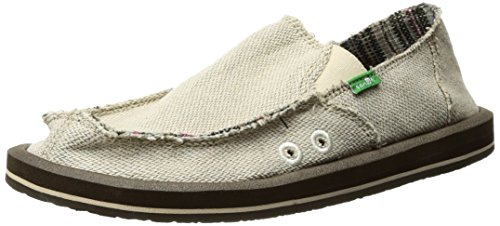 Sanuk Heren Hennep Slip-on Natural