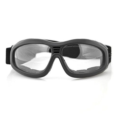 Bobster Touring 2 Goggles,Black Frame/Clear Lens,one size by Bobster (Image #5)