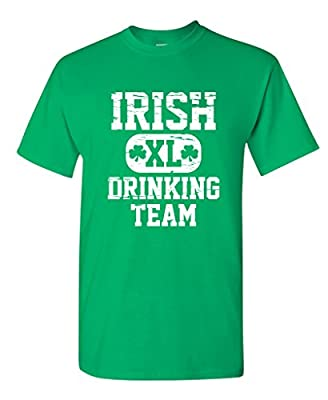 Irish Drinking Team Funny Irish Paddy Patty Patrick St. Patrick Day T Shirt