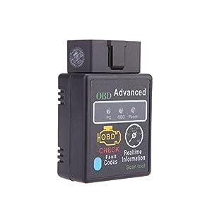 TOOGOO(R)OBD Mini Bluetooth V2.1 OBDI IOBD2 Protocols Car Diagnostic Scanner Tool Works on Android Symbian Windows