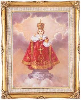 Infant of Prague Framed Art by Discount Catholic Store
