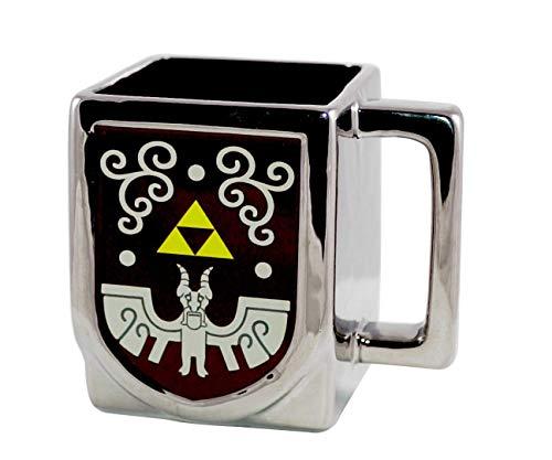 JUST FUNKY Officially Licensed The Legend of Zelda Crest of Hyrule Ceramic Mug