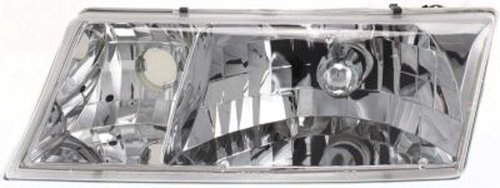 Crash Parts Plus Left Driver Side Headlight Head Lamp for 1998-2002 Mercury Grand (Mercury Grand Marquis Headlamp Assembly)