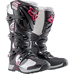 FOX COMP 5 WOMENS MX/OFFROAD BOOTS BLACK/PINK 7