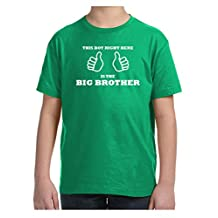 Mashed Clothing Kids This Boy Right Here Is The Big Brother T-Shirt