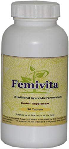 Femivita (Female Health) (Ayurvedic Female Care Formulation) 100 Tablets, 900 Mg Each - Concentrated