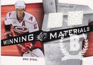 (2008-09 SPx Winning Materials #WMES Eric Staal Jersey - NM)