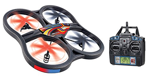 World Tech 4.5 Channel Gyro 2.4GHz Panther Drone UFO RC Q...