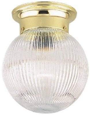 Crystal Glass Ribbed - Westinghouse 66692000 6