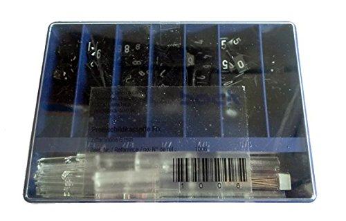 Kassette FIX Preisschilder f/ür Schaufenster und Schmuck