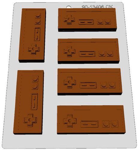 CK Products Classic Video Games Controller Chocolate Mold