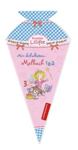 Prinzessin Lillifee - Mein Schultüten-Malbuch 1,2,3