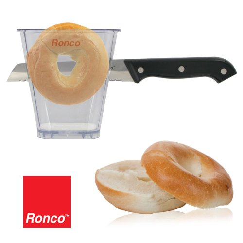 Ronco Bagel Cutter Knife Included