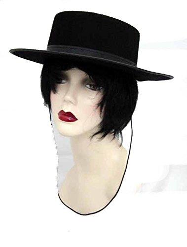 [J20927 Economy Gaucho Hat 7 1/8] (Zorro Hat)
