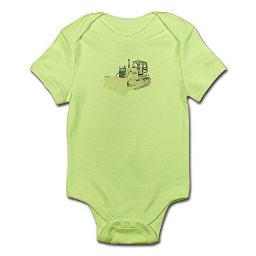 CafePress Bulldozer in Color Infant Bodysuit - Cute Infant Bodysuit Baby Romper