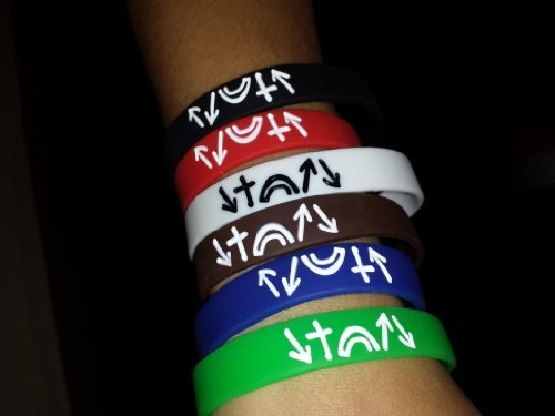 Witness Silicone Bracelets Pack of 60 Assorted Colors