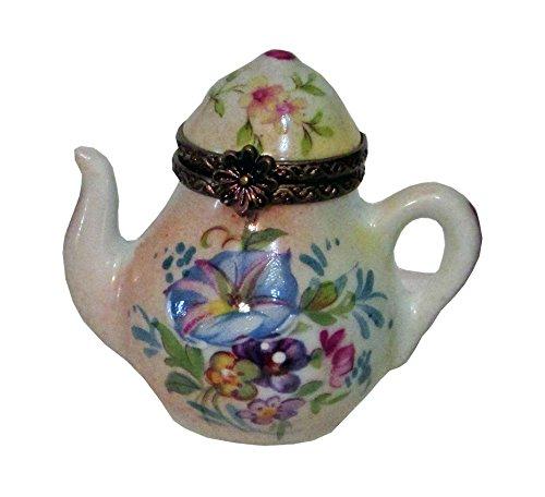 Limoges Box Teapot Floral