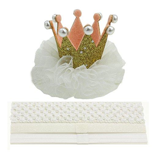 - Toddler Crown Hair Clip Headband 1 Crown Birthday for Baby Girls Princess