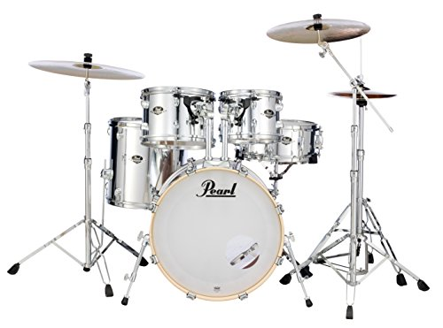 Pearl Export Bass Drum - Pearl Export 5-pc. Drum Set w/830-Series Hardware Pack (cymbals not included) MIRROR CHROME EXX705N/C49