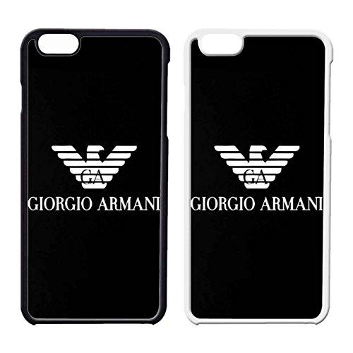 Giorgio Armani Logo IPhone Case Iphone 6 Case or Iphone 6S Black Plastic - Armani Logo Giorgio