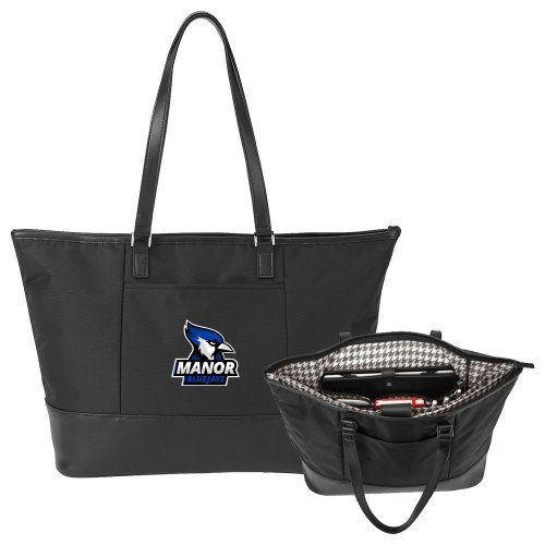 Manor Stella Black Computer Tote 'Primary Mark' by CollegeFanGear