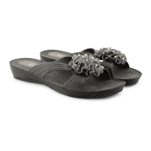 Footwear Sensation - Chanclas para mujer negro negro negro - Black Open Toe