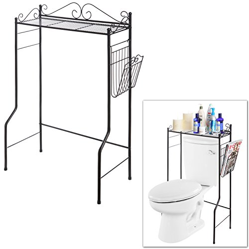 Storage Organizer Freestanding Bathroom Magazine
