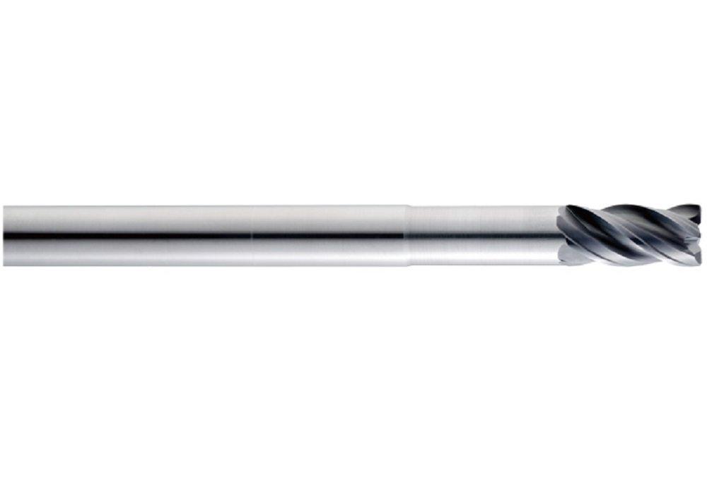 9//16 Shank Diameter 6 Length 0.030 Corner Radius 9//16 Cutting Diameter 1-1//8 Cutting Length 9//16 Shank Diameter Titanium Nitride-X Coating with Flat 1-1//8 Cutting Length SGS 36466 Z1PLC Z-Carb-AP High Performance End Mill 9//16 Cutting Diameter