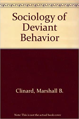 Amazon sociology of deviant behavior 9780155016163 marshall sociology of deviant behavior 9th edition fandeluxe Choice Image