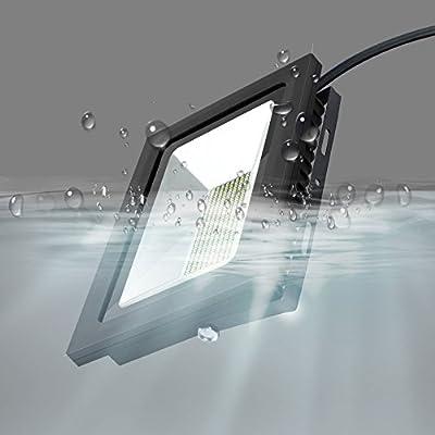 Warm White, 100W : Warm/Cool White 220V 230V LED Floodlight 15W 30W 60W 100W 150W 200W Ultrathin IP65 LED Lamp Waterproof Super Bright LED Light
