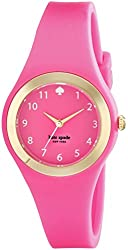 kate spade new york Women's 1YRU0608 Rumsey Pink and Gold-Tone Watch