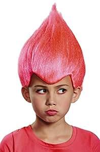 Pink Wacky Child Wig, One Size Child