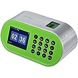 ZKTeco CT10 Desktop Fingerprint Time Clock Biometric Time Attendance Machine System Employee Recorder for Small Business